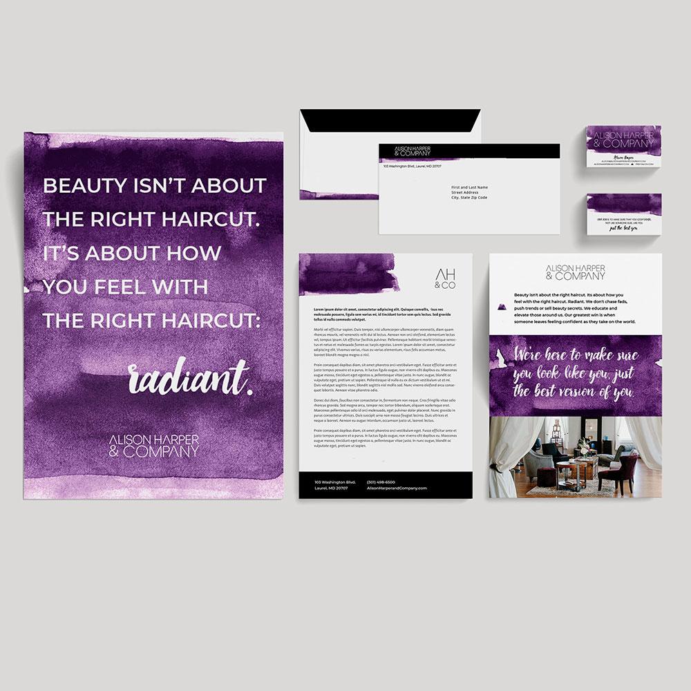 Alison Harper and Company Branding // Illiah Manger Portfolio