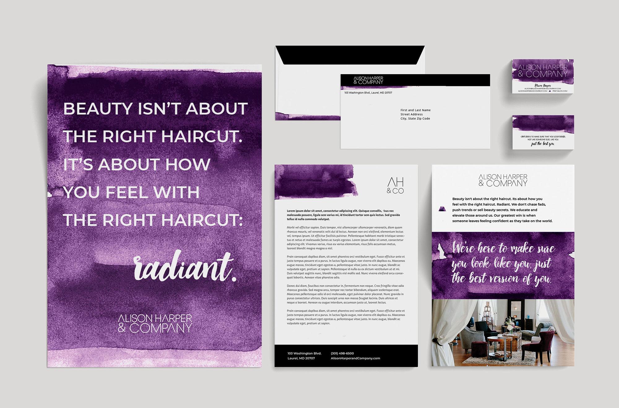 Alison Harper Co. Branding // C&V Creative