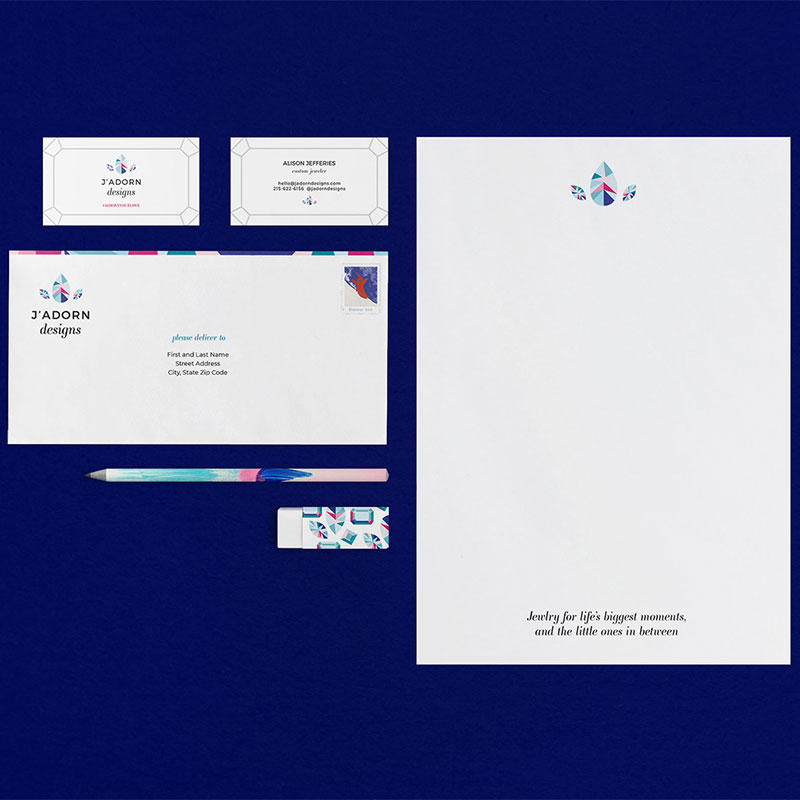 J'Adorn Designs Branding // C&V Creative