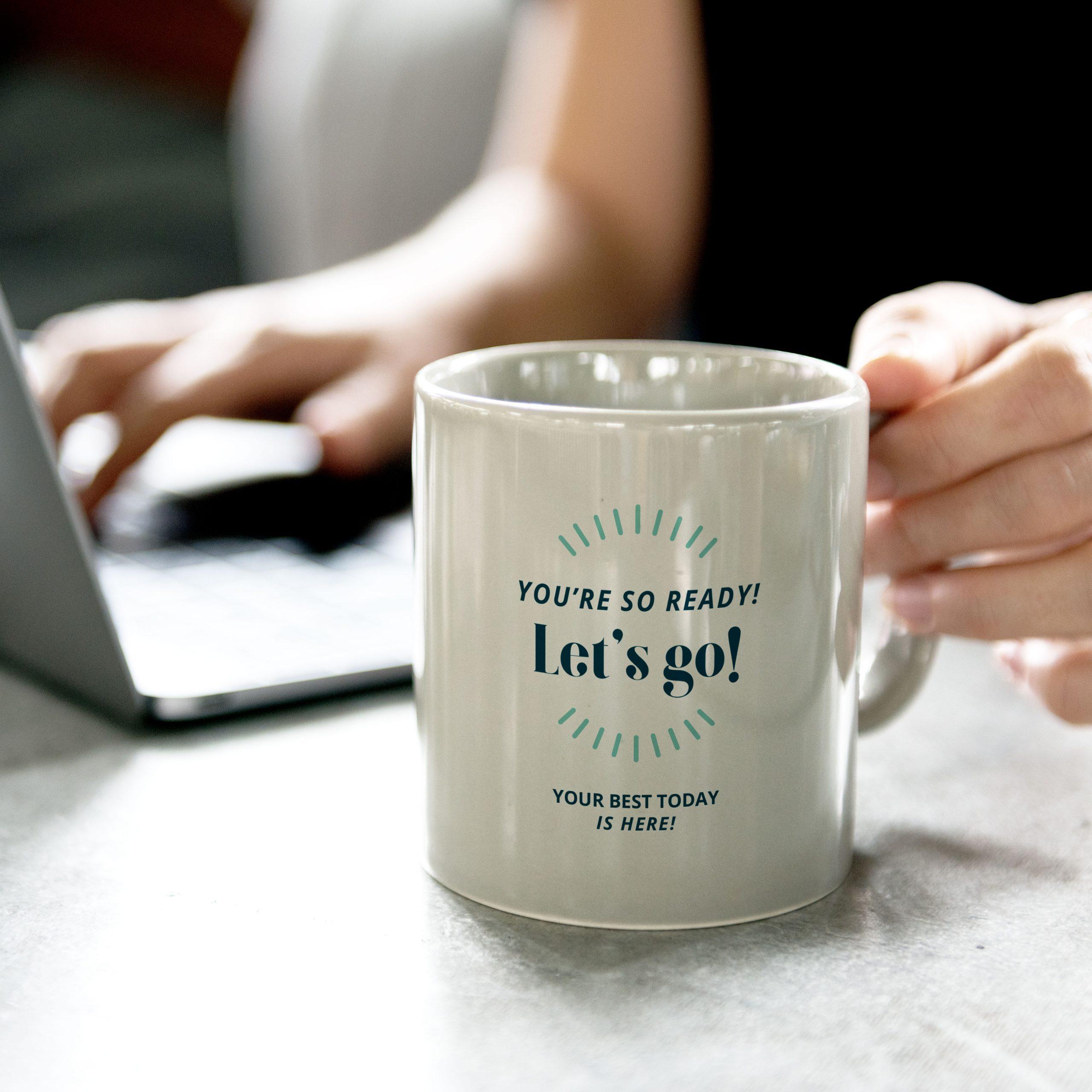 mug/swag designed for Best Today by C&V